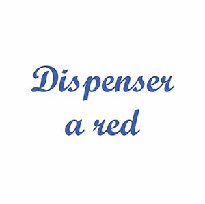 Dispenser A Red