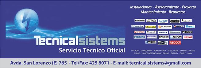 Tecnical Sistems Servicio Técnico Oficial