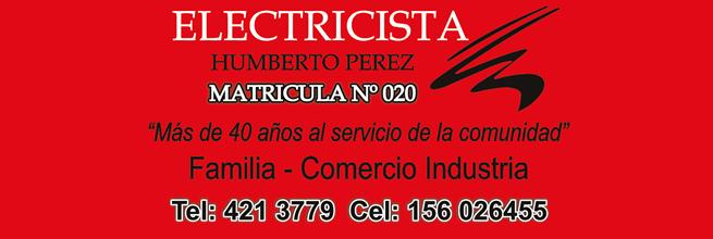 Pérez Humberto Electricista