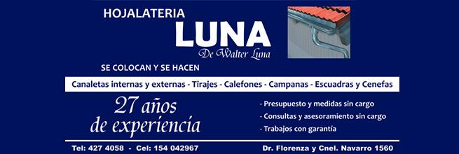 Hojalatería Luna