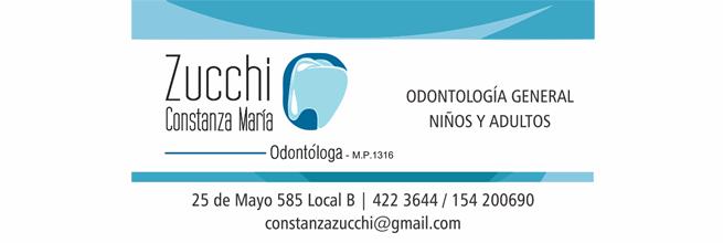 Zucchi Constanza Odontóloga