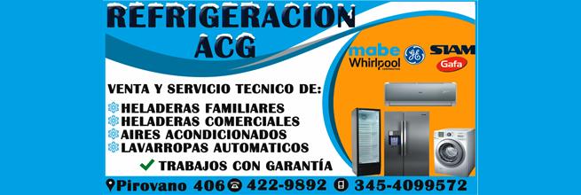 Refrigeración ACG