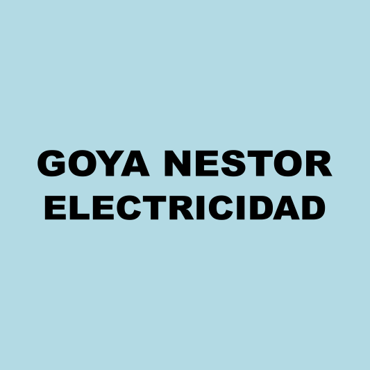 Goya Néstor Electricista